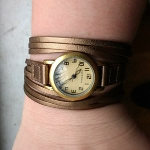 TOKYObay Gold Strap Watch